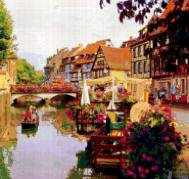 Живописный Эльзас, Франция