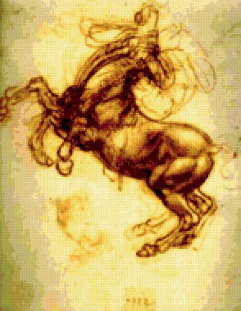 Рисунок Леонардо Да Винчи,