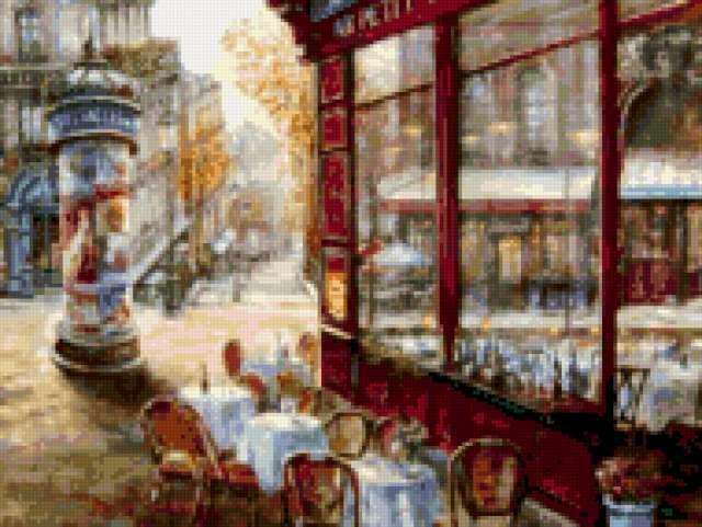 Улочки Парижа, предпросмотр