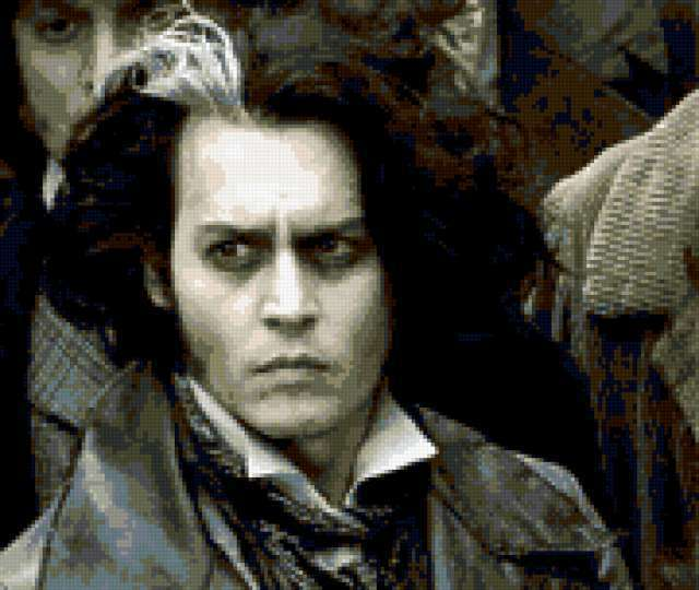 Джонни депп демон-парикмахер,