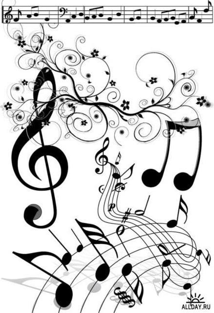 Танцующие ноты, оригинал
