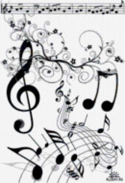 Танцующие ноты, предпросмотр