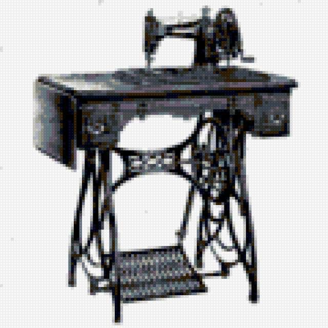 Швейная машинка, предпросмотр