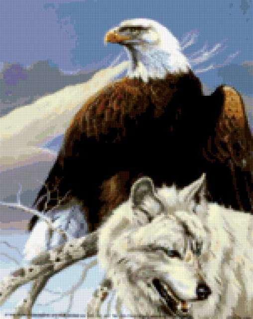 Орел и волк, предпросмотр