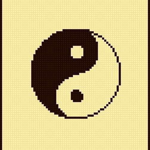 Китайский иероглиф ИНЬ-ЯН,