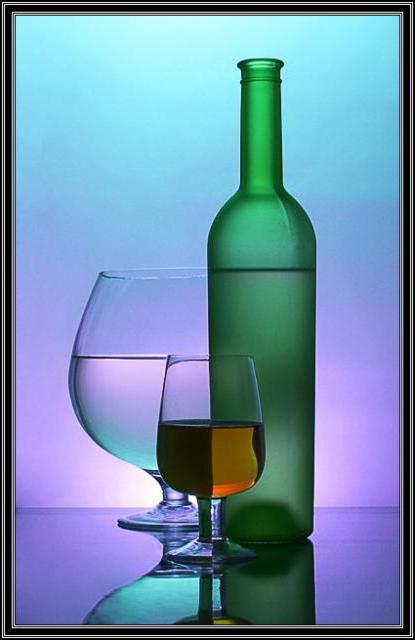 Бутылка, оригинал