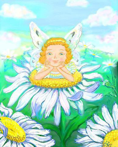 Фея Ромашка, цветочные феи,