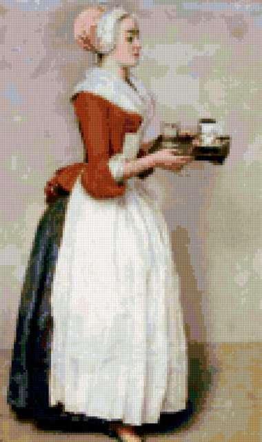 Шоколадница лиотар схема вышивки 670
