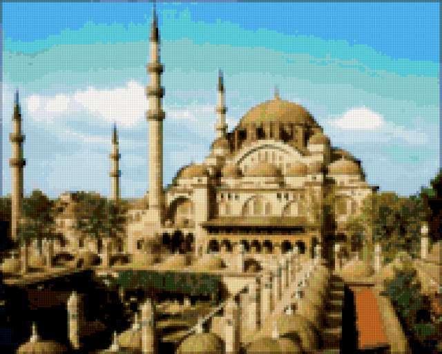 К схеме вышивки «Стамбул» нет