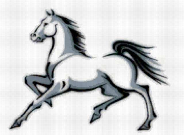 найти эту схему: лошади,