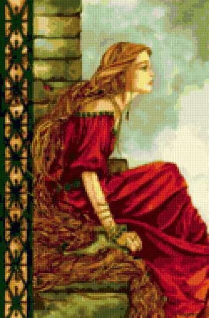 Рапунцель, принцесса, сказка