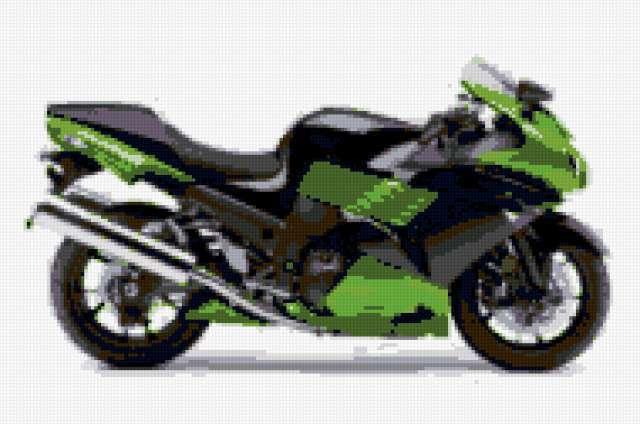 Мотоцикл Кавасаки ZX14