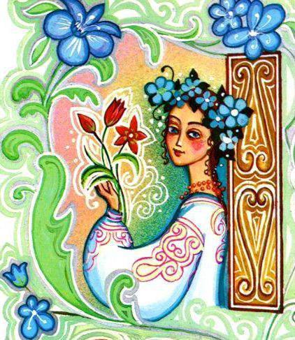 Девочка-весна, оригинал