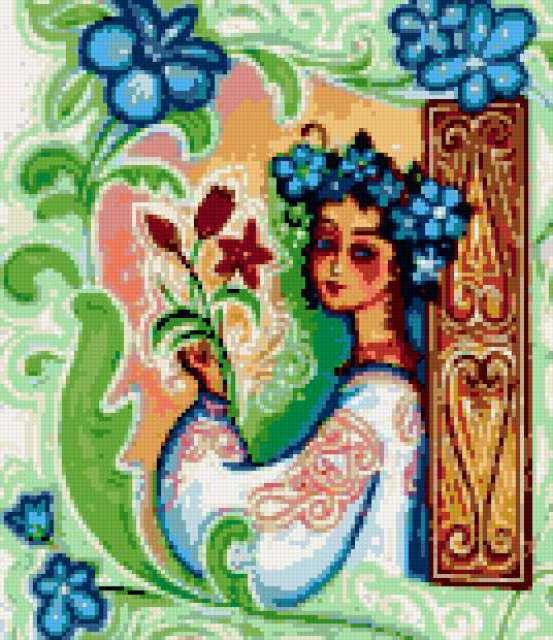 Девочка-весна, предпросмотр