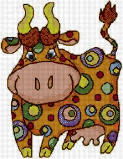 Весёлая коровка, предпросмотр