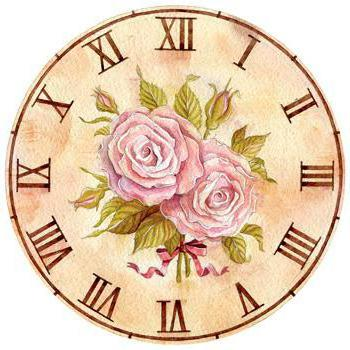 Вышитые часы, оригинал