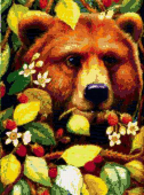 Медведь и малина, предпросмотр