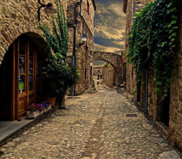 Испания. Старые улицы.