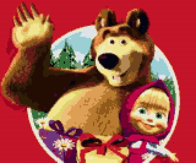 Маша и медведь 2, мультики