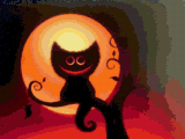 Чеширский кот, предпросмотр