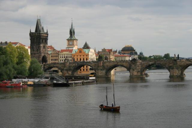 Прага. Карлов мост, оригинал