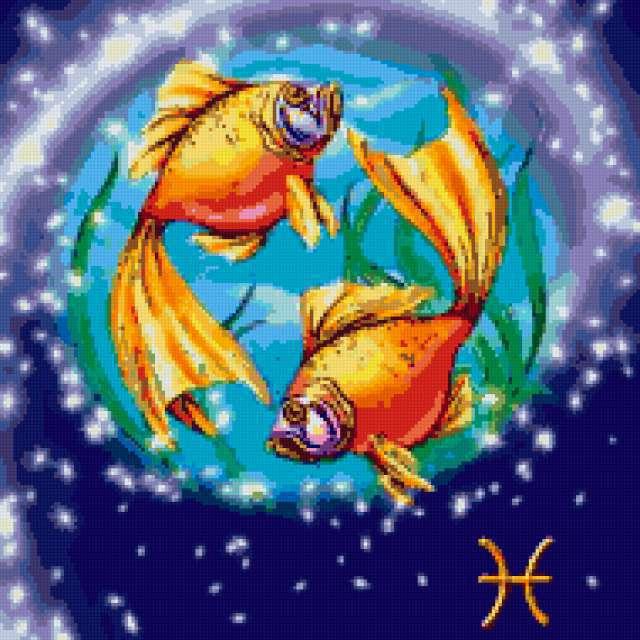 Знаки зодиака-рыбы