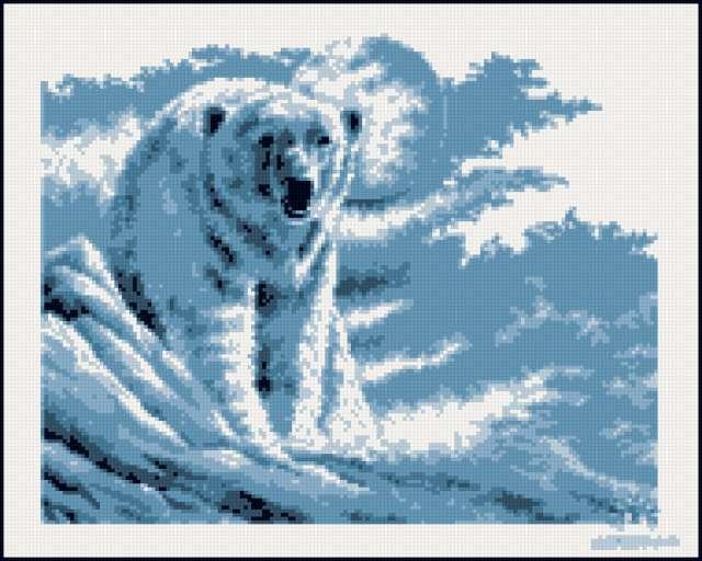 Медведь белый, предпросмотр