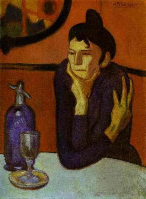 Пикассо, Любительница абсента
