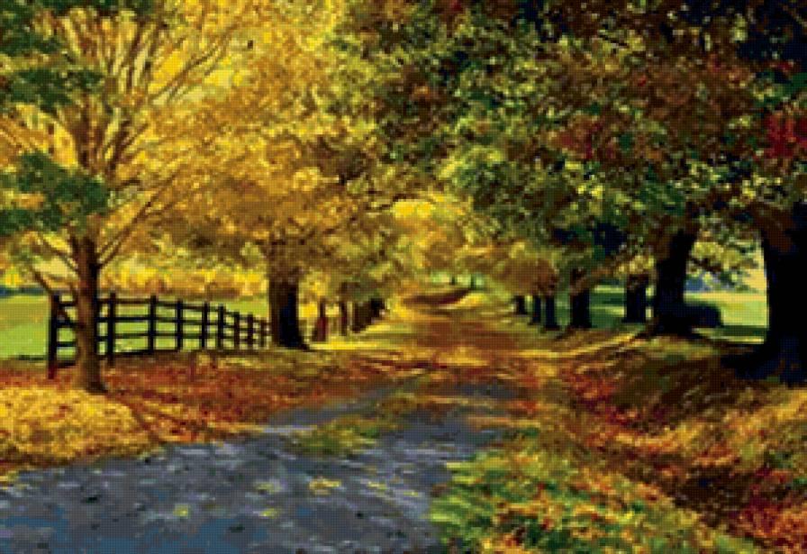 золотая осень, предпросмотр