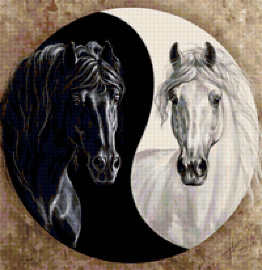 Инь Янь : Лошади, предпросмотр
