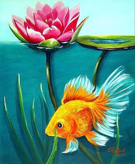 Золотая рыбка, оригинал