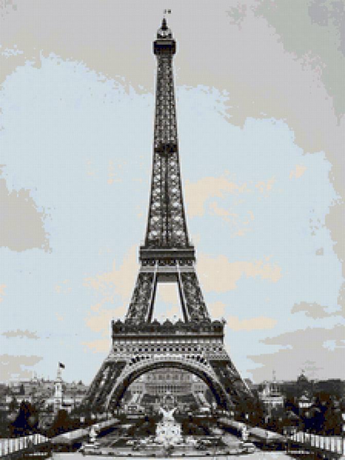 """Серия """"Париж"""" Эйфелева башня,"""
