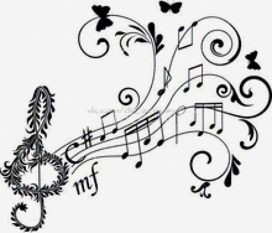 скрипичный ключ, предпросмотр