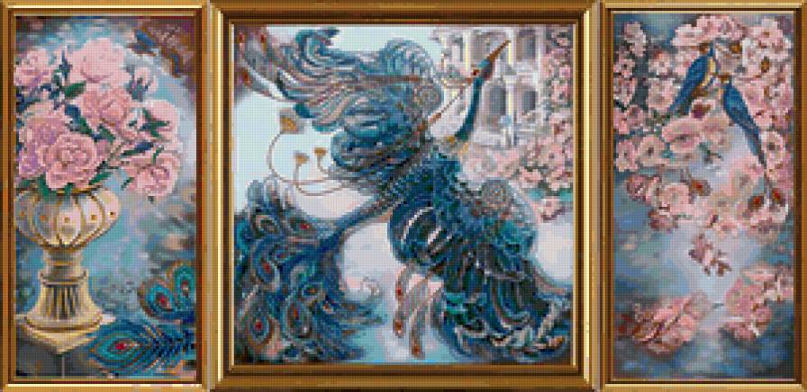 Триптих Жар-птица