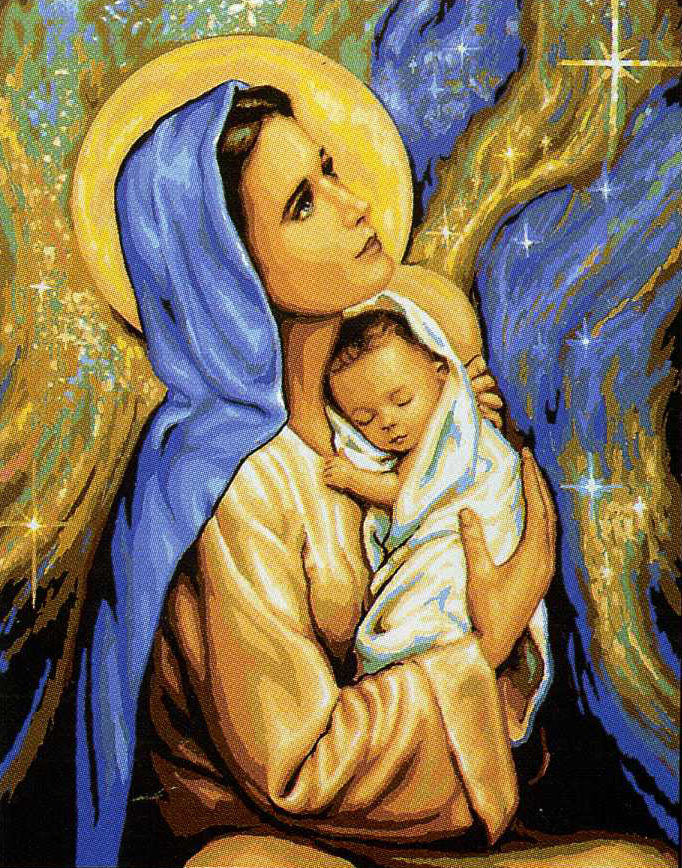 Дева Мария и дитя, оригинал