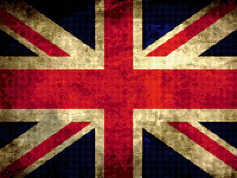 Английский флаг, предпросмотр