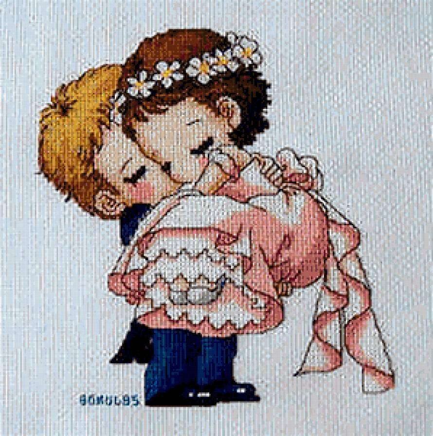 схема вышивки в любви
