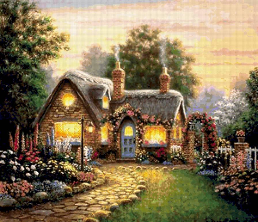 картинка сказочный домик