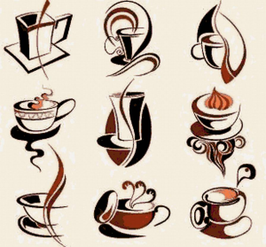 """Миниатюры """"Чашечка кофе"""""""
