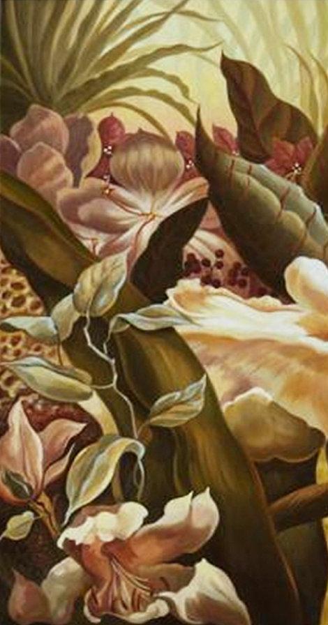 триптих - Райский сад (левая