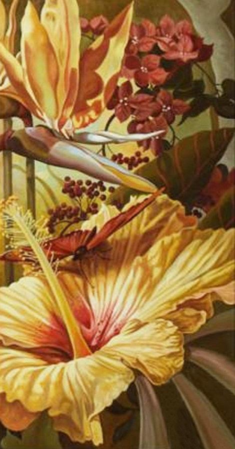 триптих - Райский сад (правая