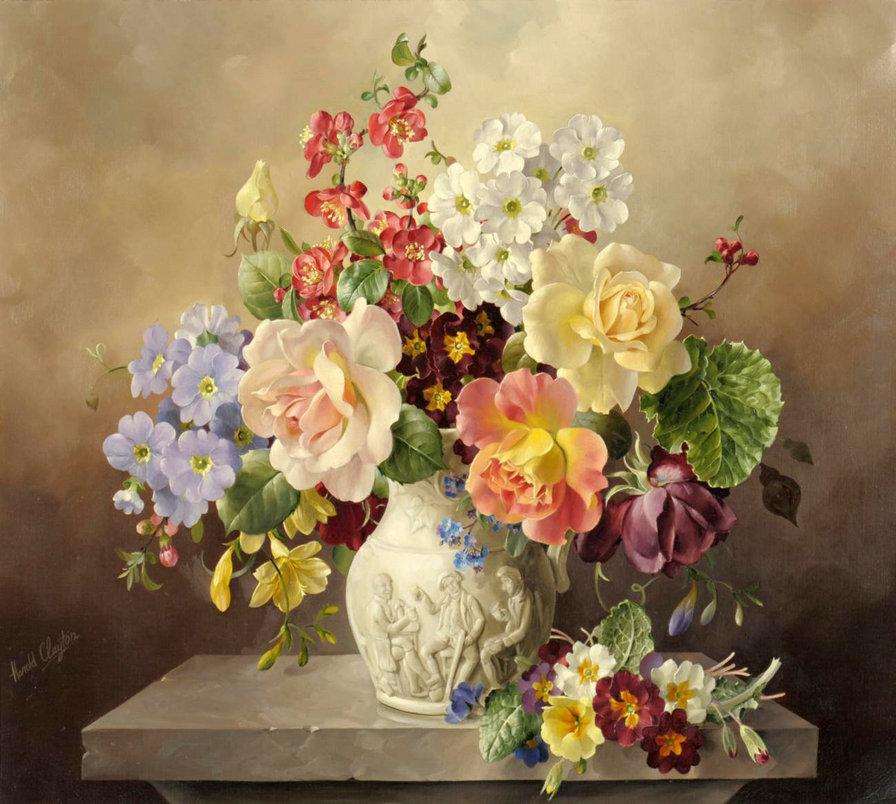 Викторианские цветы, оригинал