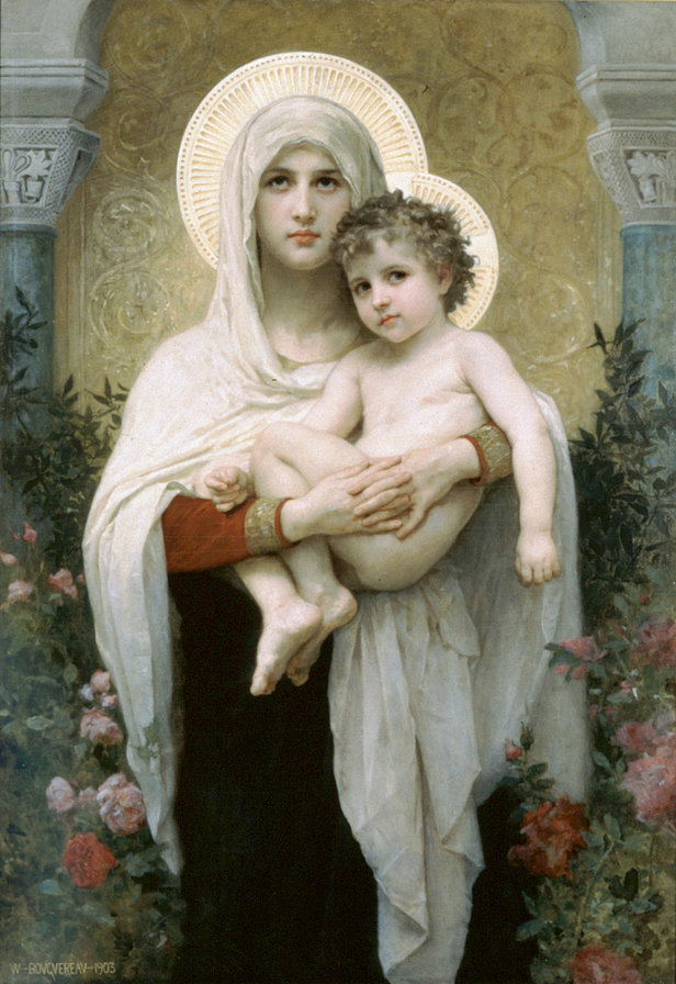 мадонна с ребенком, женщины