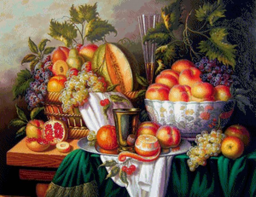 великолепный натюрморт, кухня
