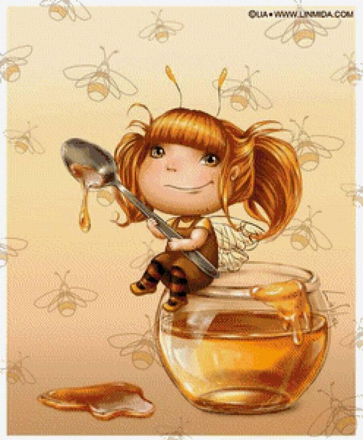 феечка-пчелка, предпросмотр