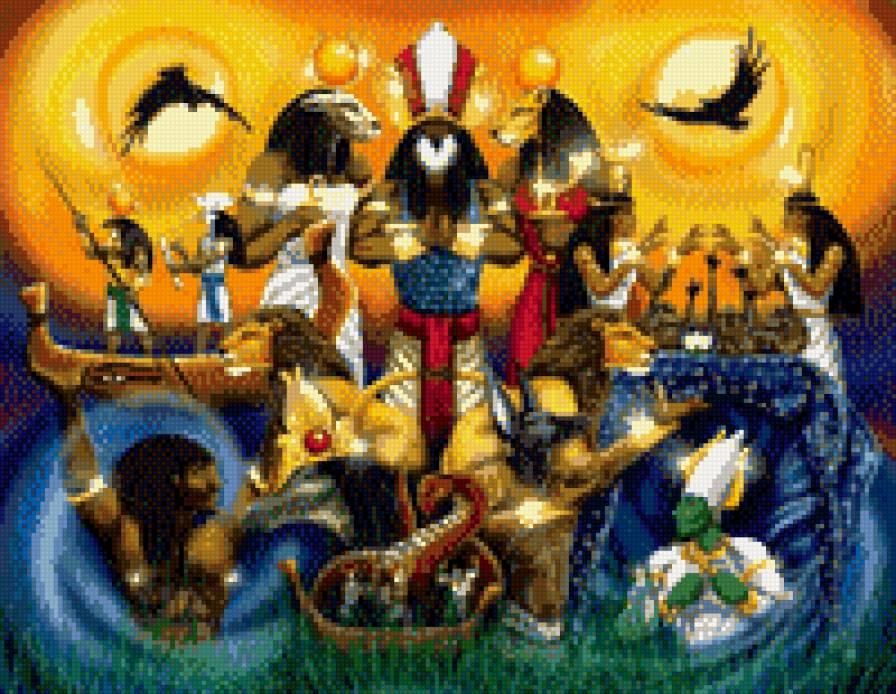 Пантеон египетских Богов