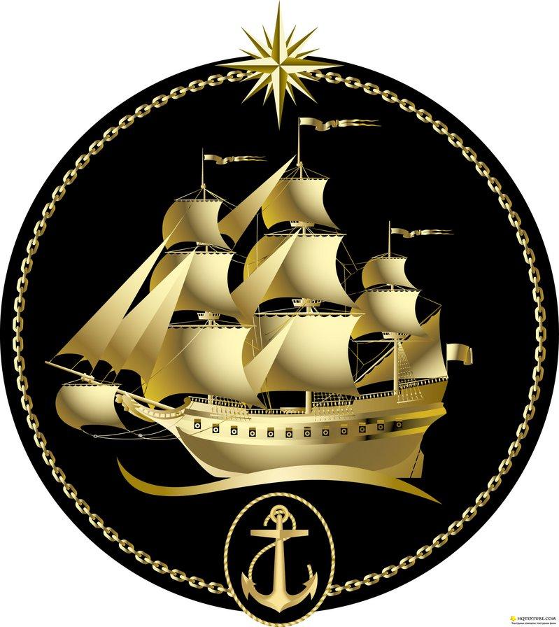 Парусник, Корабль, море, якорь