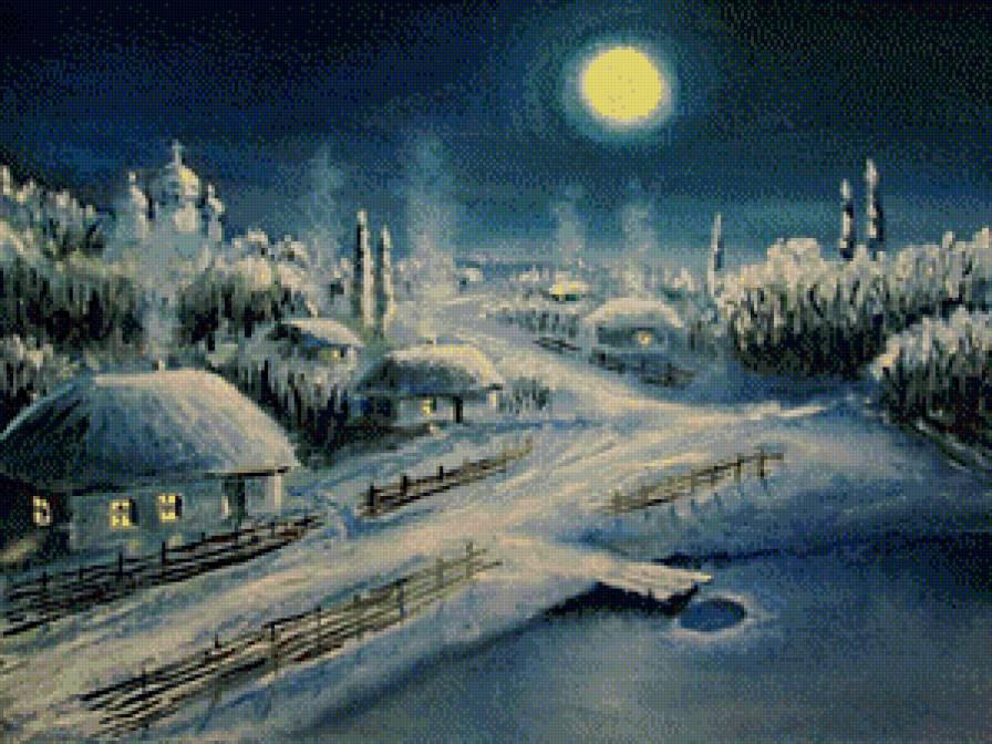 тиха рождественская ночь...