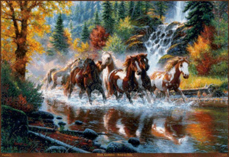 табун лошадей, предпросмотр