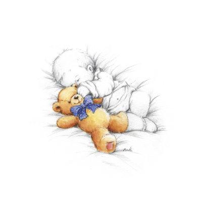 спящий ребенок, оригинал